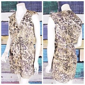 Miss Me Small S MM Couture Leopard Sheath Dress